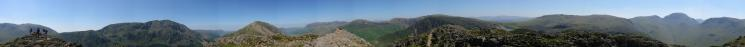 360 Panorama from Haystacks' summit
