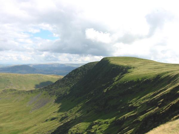 Bannerdale Crags' east ridge