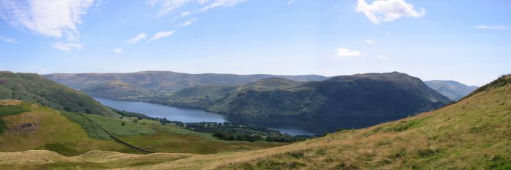 Ullswater, the northern end of the High Street ridge and Place Fell