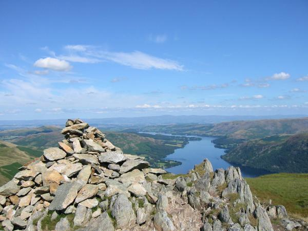 Ullswater from Sheffield Pike summit