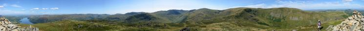360 Panorama from Sheffield Pike's summit