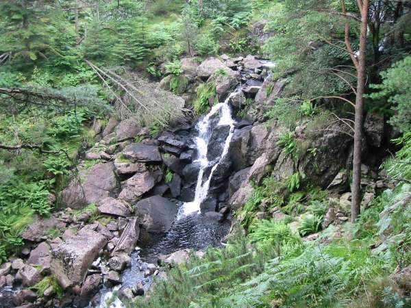 Waterfall in Dob Gill