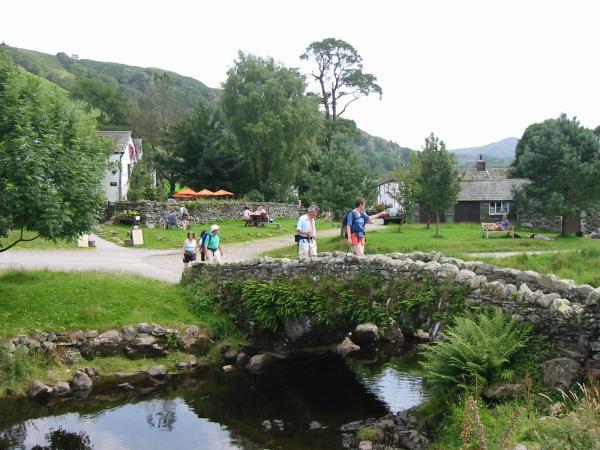 The bridge at Watendlath