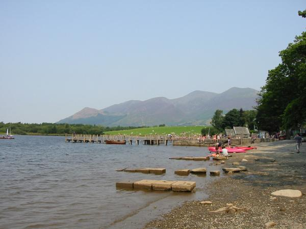 Skiddaw from Keswick landing stages