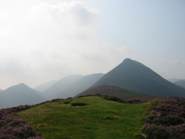 Looking back to Causey Pike from Rowling End