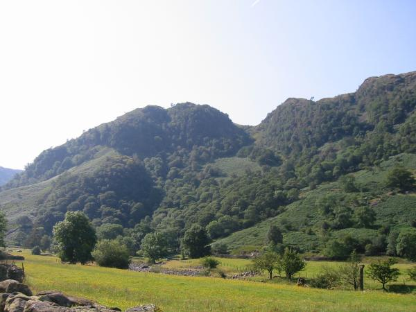 Big Stanger Gill and Hanging Haystacks on the side of Bessy Boot