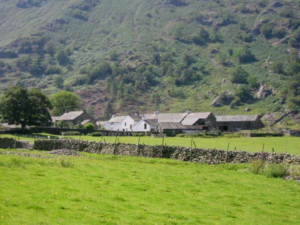 The hamlet of Seathwaite