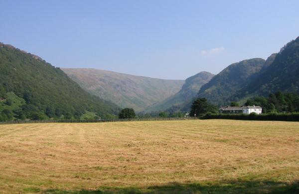 Looking towards Stonethwaite from Longthwaite