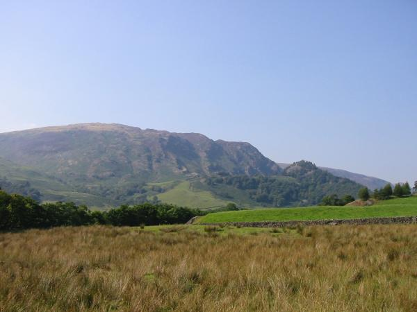 High Spy and Castle Crag from Longthwaite