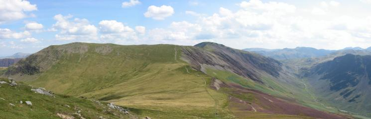 Hindscarth, Littledale Edge, Dale Head and Honister Pass