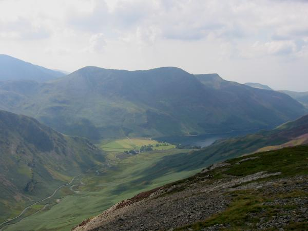 Buttermere and the High Stile ridge