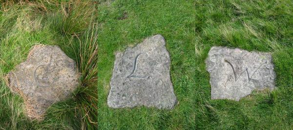 Three Shire Stones. Three Stones have traditionally marked the adjoining counties of Cumberland, Westmorland and Lancashire