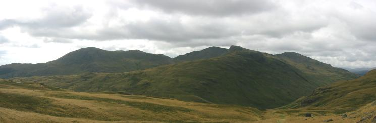 Wetherlam, Swirl How, Great Carrs and Grey Friar