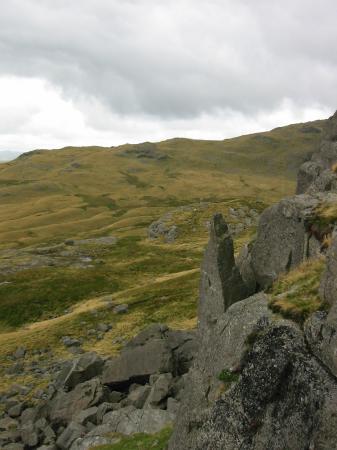 Wainwright's 'The Needle', Black Crag