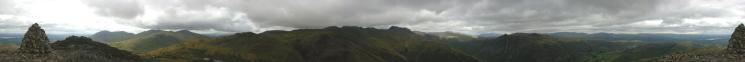 360 Panorama from Pike O' Blisco's summit