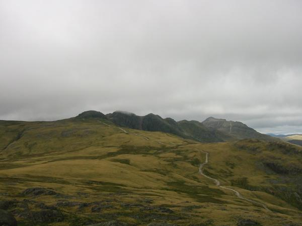 The path to Crinkle Crags