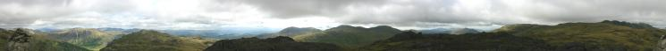 360 Panorama from Cold Pike's summit
