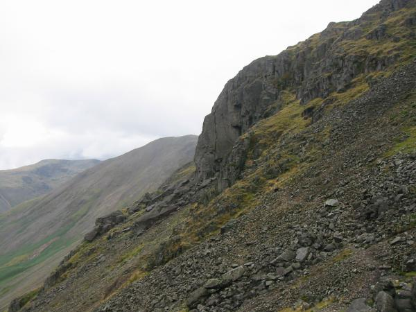 Kern Knotts, the start of the south traverse