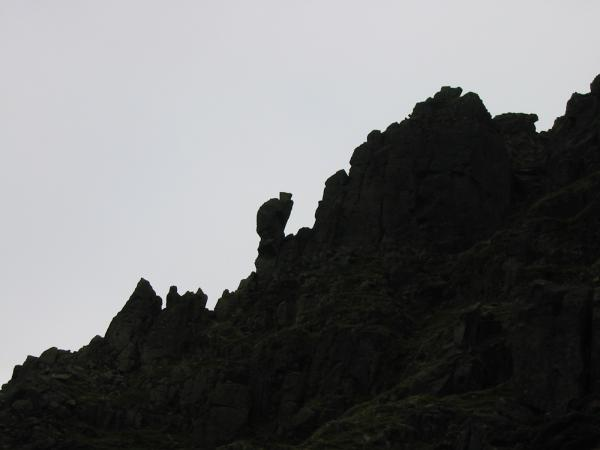 The Cat Rock, also called The Sphinx Rock