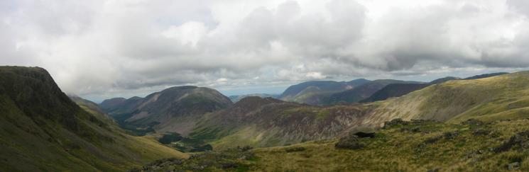Upper Ennerdale, the High Stile ridge, Haystacks and Grasmoor