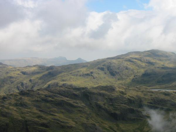 The Langdale Pikes: Harrison Stickle and Pike O' Stickle