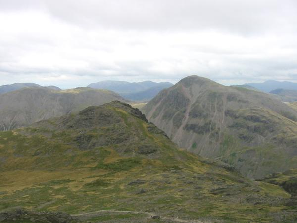 Lingmell and Great Gable