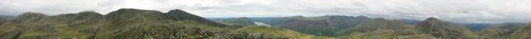 360 Panorama from Lingmell's summit