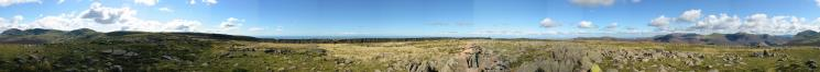 360 Panorama from Iron Crag's summit