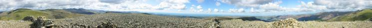 360 Panorama from Haycock's summit