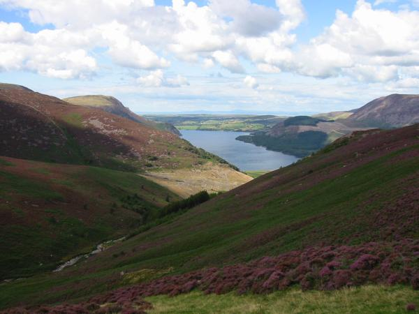 Ennerdale Water from the descent