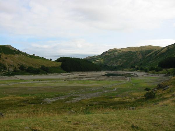 Mardale Head, the tides out! The reservoir is very low at the moment