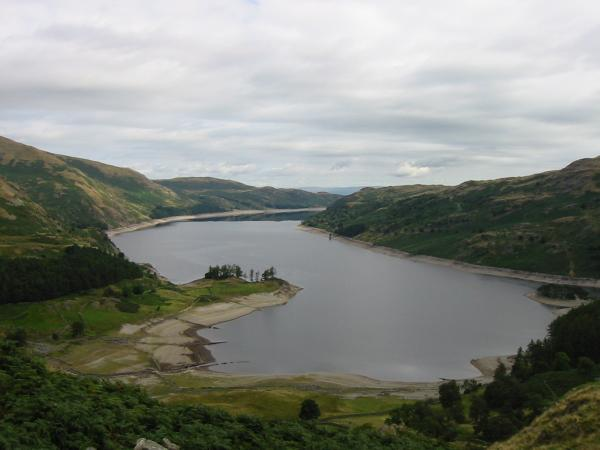 Haweswater from the ascent of Rough Crag