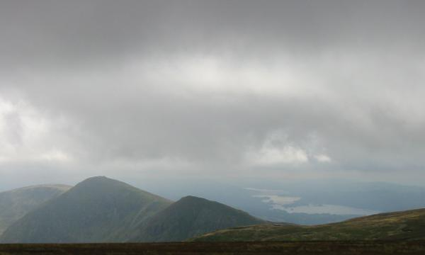 Looking south to Ill Bell, Froswick and Windermere