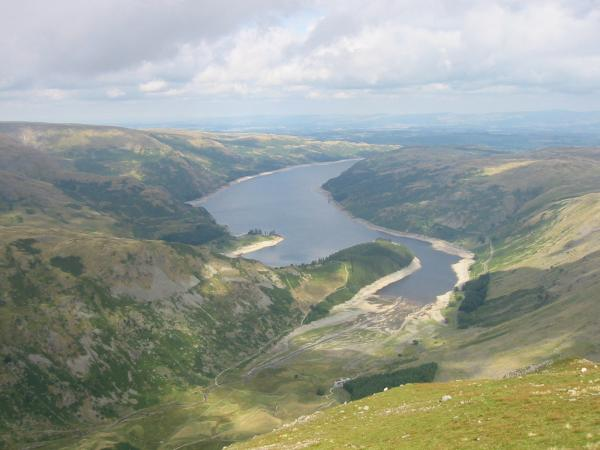 Haweswater from the north east end of Harter Fell