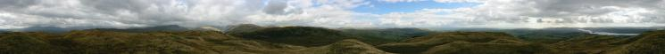 360 Panorama from Sour Howes' summit