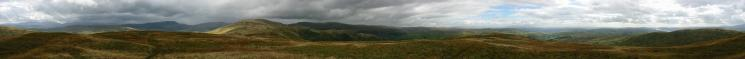 360 Panorama from Sallows' summit