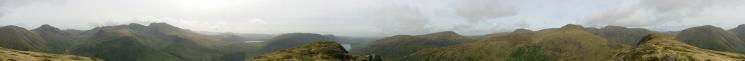 360 Panorama from Yewbarrow's summit