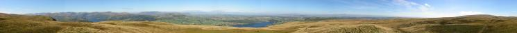 360 Panorama from Arthur's Pike's summit
