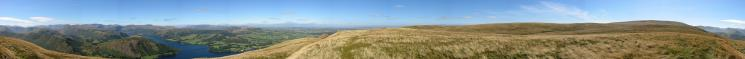 360 Panorama from Bonscale Pike's summit