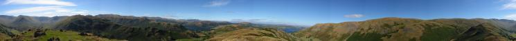 360 Panorama from Steel Knotts' summit