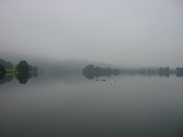 A misty Grasmere