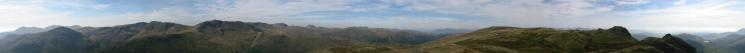 360 Panorama from Pike O' Stickle's summit