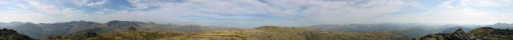 360 Panorama from Harrison Stickle's summit