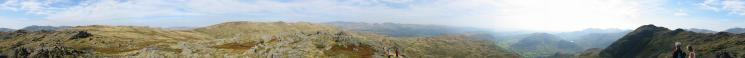 360 Panorama from Pavey Ark's summit