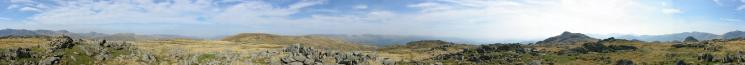 360 Panorama from Thunacar Knott's summit