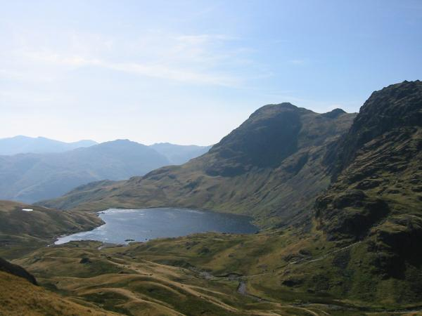 Stickle Tarn, Harrison Stickle and Pavey Ark