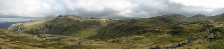 The Glaramara to Allen Crags ridge