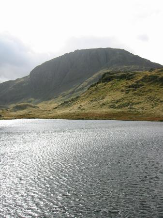 Great End from an unnamed tarn on Seathwaite Fell