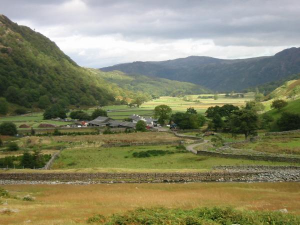 The hamlet of Seathwaite