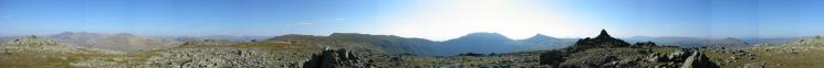 360 Panorama from Grey Friar's summit